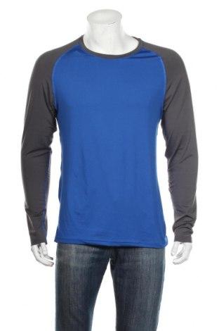 Ανδρική αθλητική μπλούζα Crane, Μέγεθος L, Χρώμα Μπλέ, 95% πολυεστέρας, 5% ελαστάνη, Τιμή 8,91€