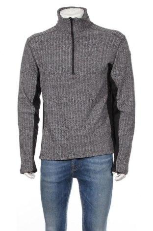 Мъжка спортна блуза Icepeak, Размер L, Цвят Сив, 95% полиестер, 5% еластан, Цена 29,40лв.