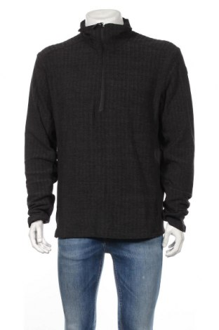 Мъжка спортна блуза Icepeak, Размер XL, Цвят Черен, 95% полиестер, 5% еластан, Цена 21,62лв.