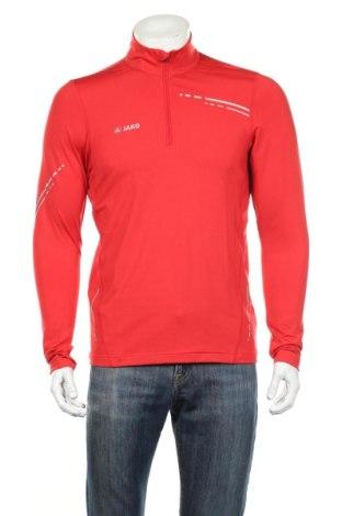 Мъжка спортна блуза Jako, Размер M, Цвят Червен, 87% полиамид, 13% еластан, Цена 27,60лв.