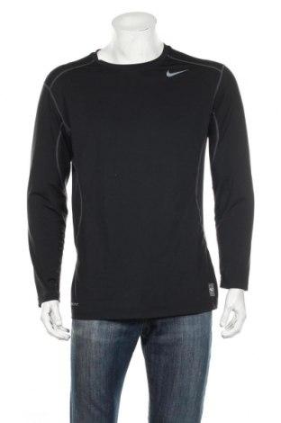 Мъжка спортна блуза Nike, Размер L, Цвят Черен, 92% полиестер, 8% еластан, Цена 17,96лв.