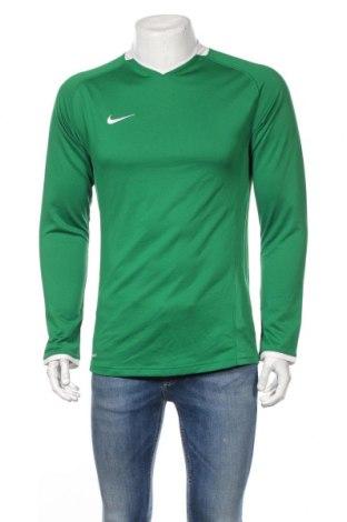 Мъжка спортна блуза Nike, Размер M, Цвят Зелен, Полиестер, Цена 18,95лв.