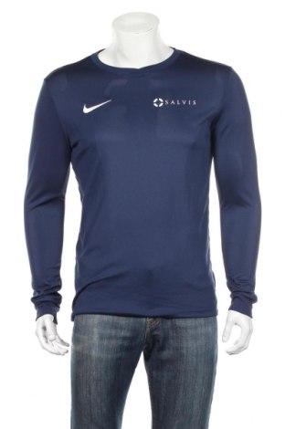 Pánske športové tričko  Nike, Veľkosť M, Farba Modrá, Polyester, Cena  15,00€