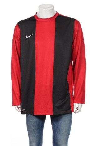 Pánske športové tričko  Nike, Veľkosť XL, Farba Červená, Polyester, Cena  10,21€