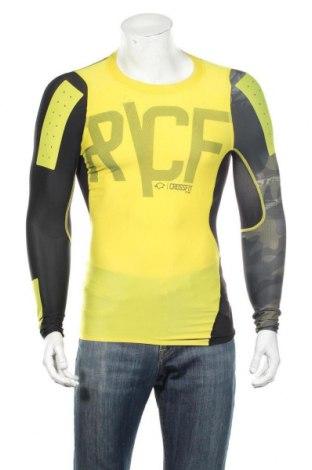 Pánske športové tričko  Reebok, Veľkosť M, Farba Žltá, 73% polyester, 27% elastan, Cena  12,22€