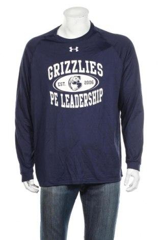 Ανδρική αθλητική μπλούζα Under Armour, Μέγεθος XL, Χρώμα Μπλέ, Πολυεστέρας, Τιμή 43,91€