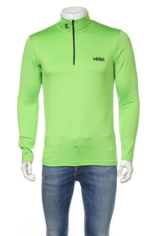 Мъжка спортна блуза VOLKL, Размер S, Цвят Зелен, 95% полиестер, 5% еластан, Цена 31,92лв.