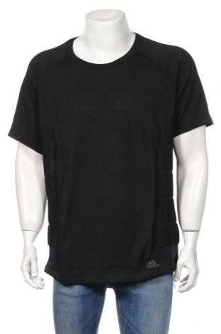 Pánské tričko  Adidas, Rozměr XL, Barva Černá, 78% polyester, 22% vlna, Cena  929,00Kč