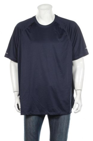 Мъжка тениска Athletic Works, Размер XXL, Цвят Син, Полиестер, Цена 25,94лв.