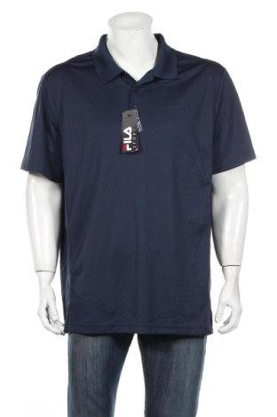 Мъжка тениска Fila, Размер XXL, Цвят Син, Полиестер, Цена 31,92лв.