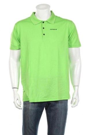 Мъжка тениска Icepeak, Размер XXL, Цвят Зелен, 65% полиестер, 35% памук, Цена 21,00лв.