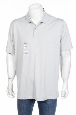 Pánske tričko  Izod, Veľkosť L, Farba Sivá, Polyester, Cena  20,00€
