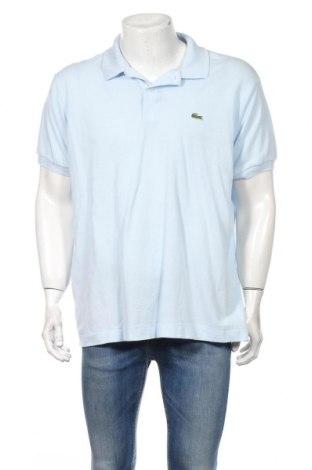 Pánske tričko  Lacoste, Veľkosť XXL, Farba Modrá, Bavlna, Cena  37,11€