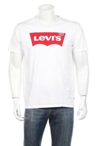 Ανδρικό t-shirt Levi's, Μέγεθος L, Χρώμα Λευκό, Βαμβάκι, Τιμή 26,80€