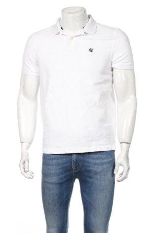 Мъжка тениска McNeal, Размер M, Цвят Бял, Памук, Цена 42,00лв.