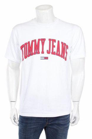 Ανδρικό t-shirt Tommy Hilfiger, Μέγεθος M, Χρώμα Λευκό, Βαμβάκι, Τιμή 33,49€