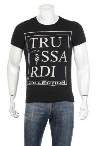 Ανδρικό t-shirt Trussardi, Μέγεθος L, Χρώμα Μαύρο, Βαμβάκι, Τιμή 31,98€
