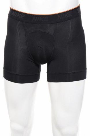 Мъжки боксерки Nike, Размер S, Цвят Черен, 92% полиестер, 8% еластан, Цена 17,60лв.