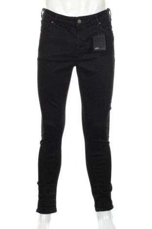 Мъжки дънки ASOS, Размер L, Цвят Черен, 92% памук, 6% полиестер, 2% еластан, Цена 88,78лв.