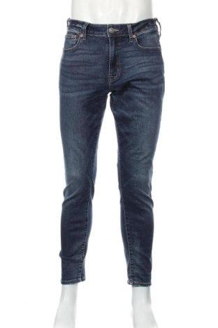 Pánske džínsy  American Eagle, Veľkosť M, Farba Modrá, 65% bavlna, 23% polyester, 10% viskóza, 2% elastan, Cena  11,85€