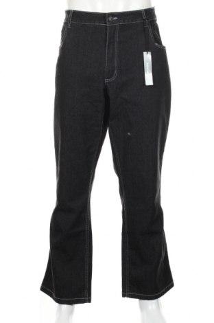 Мъжки дънки Brams Paris, Размер XL, Цвят Черен, 78% памук, 20% полиестер, 2% еластан, Цена 30,92лв.