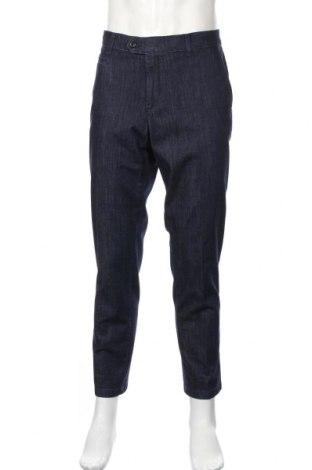 Мъжки дънки Brax, Размер XL, Цвят Син, 62% памук, 18% полиестер, 18% лиосел, 2% еластан, Цена 38,70лв.
