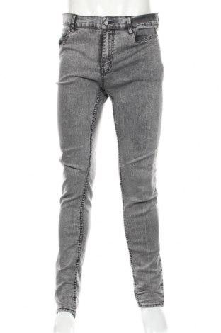 Мъжки дънки Cheap Monday, Размер L, Цвят Сив, 80% памук, 18% полиестер, 2% еластан, Цена 28,81лв.