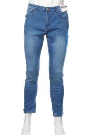 Мъжки дънки Denim&Co., Размер L, Цвят Син, 52% полиестер, 48% памук, Цена 37,91лв.