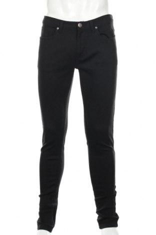 Мъжки дънки Denim Co, Размер L, Цвят Черен, 98% памук, 2% еластан, Цена 26,75лв.