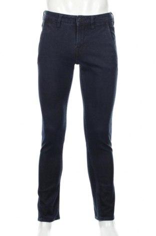Męskie jeansy Guess, Rozmiar S, Kolor Niebieski, 66% bawełna, 17% wełna, 9% poliester, 6% wiskoza, 2% elastyna, Cena 123,48zł