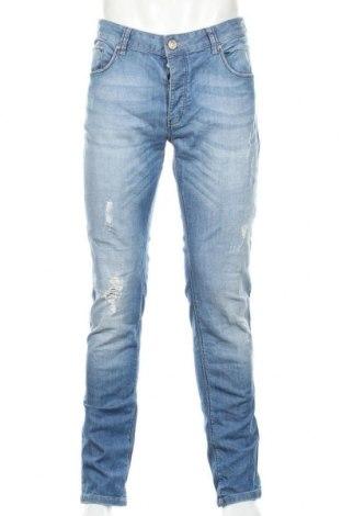 Pánske džínsy  Hamaki-Ho, Veľkosť L, Farba Modrá, 98% bavlna, 2% elastan, Cena  25,52€