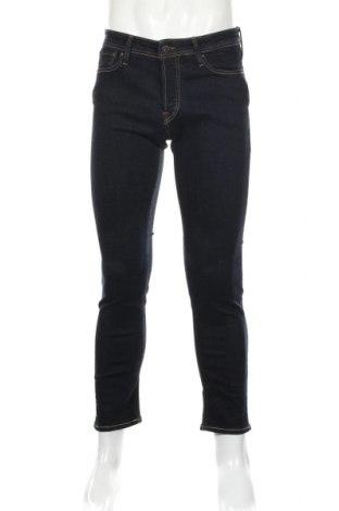 Мъжки дънки Jack & Jones, Размер S, Цвят Син, 85% памук, 13% полиестер, 2% еластан, Цена 39,50лв.