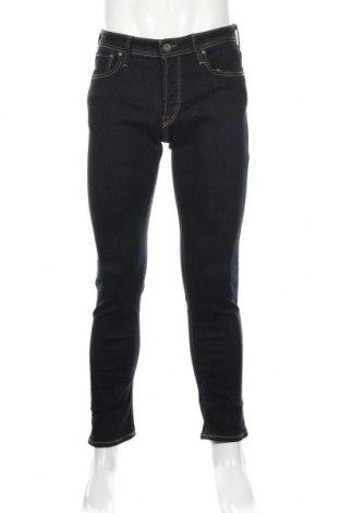Мъжки дънки Jack & Jones, Размер M, Цвят Син, 85% памук, 13% полиестер, 2% еластан, Цена 44,50лв.