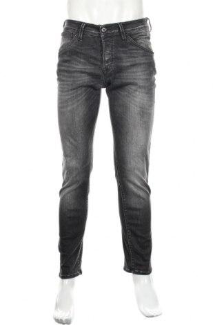 Мъжки дънки Jack & Jones, Размер M, Цвят Сив, 92% памук, 6% полиестер, 2% еластан, Цена 41,00лв.