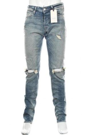 Мъжки дънки Jack & Jones, Размер M, Цвят Син, 98% памук, 2% еластан, Цена 54,50лв.