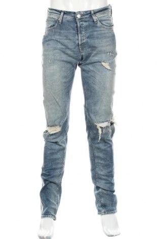 Мъжки дънки Jack & Jones, Размер M, Цвят Син, 98% памук, 2% еластан, Цена 99,00лв.