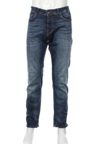 Мъжки дънки Jack & Jones, Размер L, Цвят Син, 93% памук, 5% полиестер, 2% еластан, Цена 30,45лв.