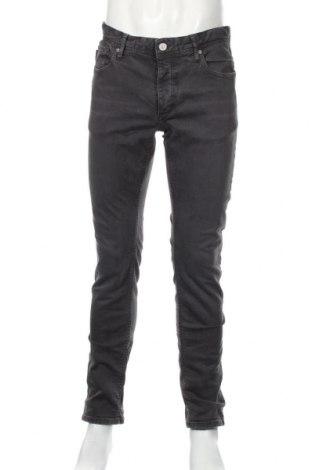 Мъжки дънки Jack & Jones, Размер M, Цвят Сив, 98% памук, 2% еластан, Цена 27,78лв.