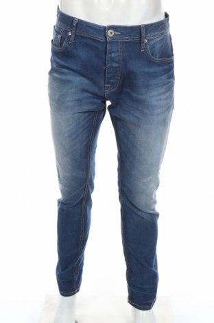 Pánske džínsy  Jack & Jones, Veľkosť L, Farba Modrá, 97% bavlna, 3% elastan, Cena  18,14€