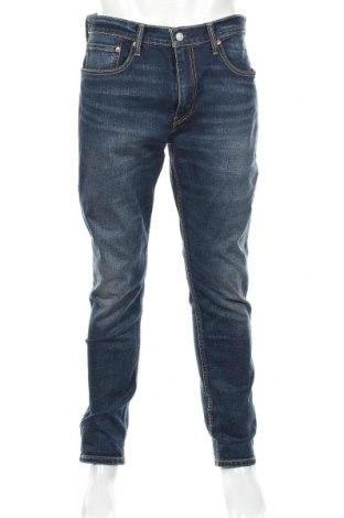 Мъжки дънки Levi's, Размер L, Цвят Син, 99% памук, 1% еластан, Цена 45,15лв.