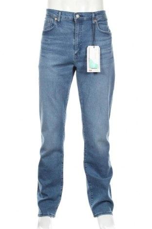 Мъжки дънки Levi's, Размер XXL, Цвят Син, 82% памук, 14% лиосел, 3% полиестер, Цена 101,32лв.