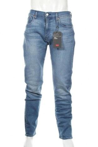 Мъжки дънки Levi's, Размер M, Цвят Син, 82% памук, 14% лиосел, 3% полиестер, 1% еластан, Цена 108,12лв.