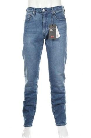 Мъжки дънки Levi's, Размер L, Цвят Син, 82% памук, 14% лиосел, 3% полиестер, Цена 114,92лв.