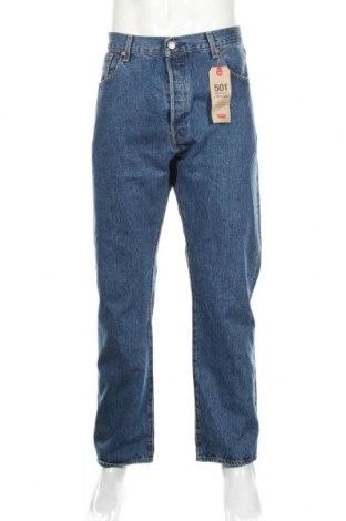 Męskie jeansy Levi's, Rozmiar XL, Kolor Niebieski, Bawełna, Cena 261,66zł