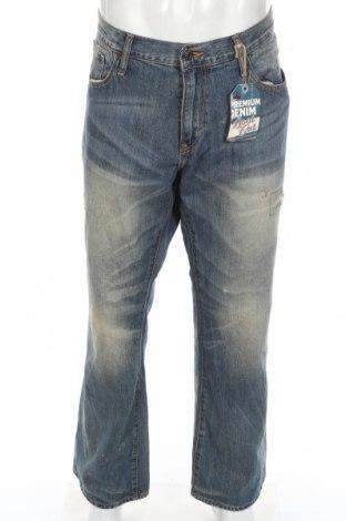 Мъжки дънки Old Navy, Размер XL, Цвят Син, Памук, Цена 42,89лв.