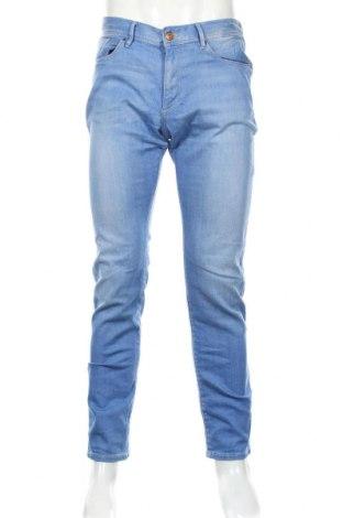 Мъжки дънки S.Oliver, Размер M, Цвят Син, 98% памук, 2% еластан, Цена 43,22лв.