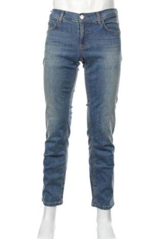 Męskie jeansy Vigoss, Rozmiar M, Kolor Niebieski, 98% bawełna, 2% elastyna, Cena 64,68zł