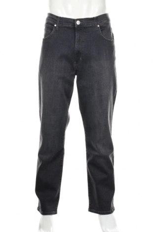 Męskie jeansy Wrangler, Rozmiar XL, Kolor Szary, 99% bawełna, 1% elastyna, Cena 160,20zł