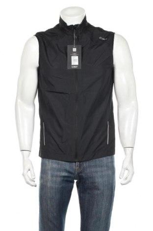 Мъжки елек Cam, Размер L, Цвят Черен, Полиестер, Цена 39,00лв.