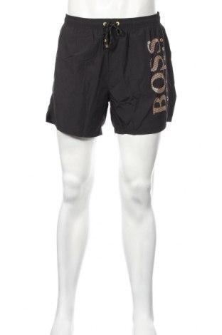 Мъжки къс панталон Hugo Boss, Размер L, Цвят Черен, Полиамид, Цена 90,30лв.